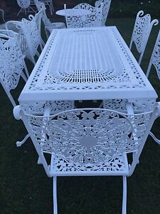 INDOOR/OUTDOOR FURNITURE: CAST IRON, WROUGHT IRON ETC. Wongawallan Gold Coast North Preview