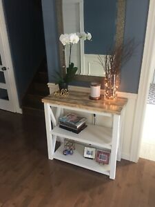 Rustic Accent Table