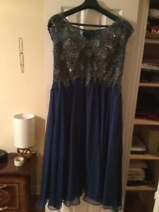 Dress size 16 selling for $350