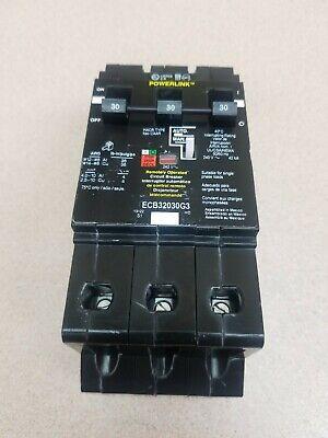 Sq D Ecb32030g3 Powerlink Breaker 3p 30a 240vac