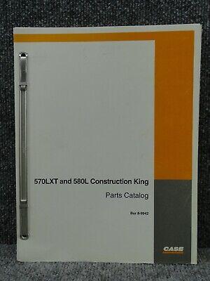 Oem Case 570lxt 580l Construction King Skip Loader Parts Catalog Manual 8-9942
