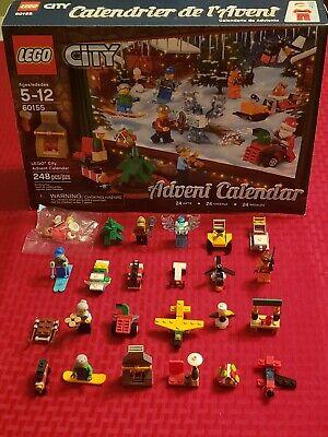 LEGO City: Advent Calendar 60155 (USED) 99% Complete (NO BOX)