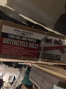 Haul- Master motorcycle dolly brand new