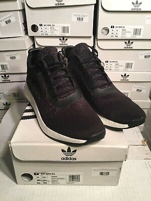 SALE Adidas Consortium X Wings + Horns WH NMD R2 Black CP9550 Size 8.5-12 6576db37494d0