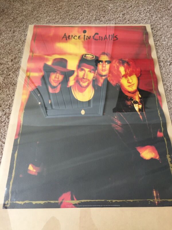 Vintage Alice in Chains Poster -1993 Dirt/Jar of Flies Era Officially Licensed