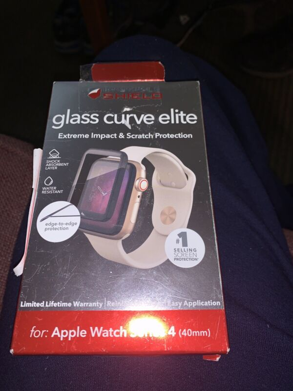 Invisible Shield - Glass Curve Elite - Apple Watch Series 4 - 40mm - New ... C5
