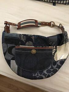 Coach patchwork handbag purse