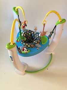 Baby Excersaucer 1 yr old like NEW Cambridge Kitchener Area image 1