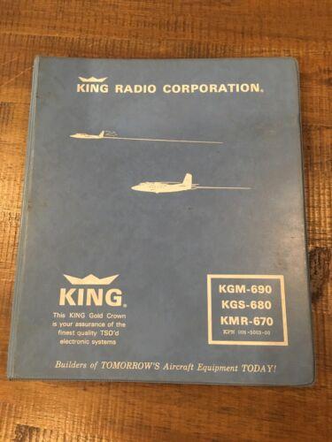 King KGM-690 Maintenance / Overhaul Manual