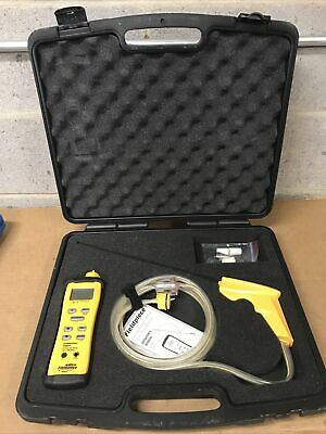 Fieldpiece Sox3 Combustion Check Meter With Autopump W Case Very Lightly Used