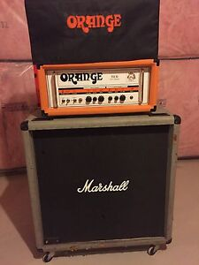 Orange OR30 and 1987 silver jubilee straight cab