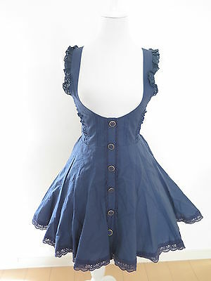 Liz Lisa Dress JSK Lolita Hime Gyaru Kawaii shibuya109 Very Cute (a367)