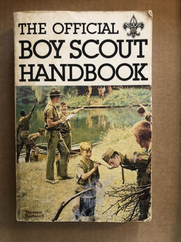 The Official Boy Scout Handbook  Boys Scouts of America Manual Copyright 1979