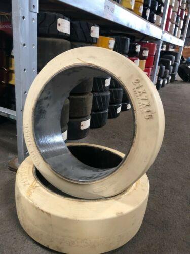 Forklift Tires lot Of 12