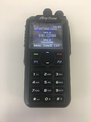 Anytone AT-D878UV Plus 4000CH GPS Dual Band DMR/Analg. Blue Tooth/ PTT USA STORE