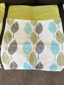 Cushion covers X 4 matching leaf design Launceston Launceston Area Preview