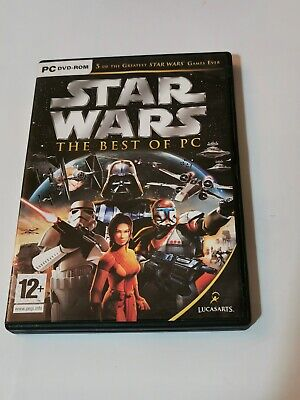 Star Wars Best of Pc - 5 Great Games - KOTOR  for sale  Shipping to Nigeria