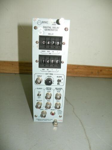 BNC Digital Delay Generator Plug In Module 7020A