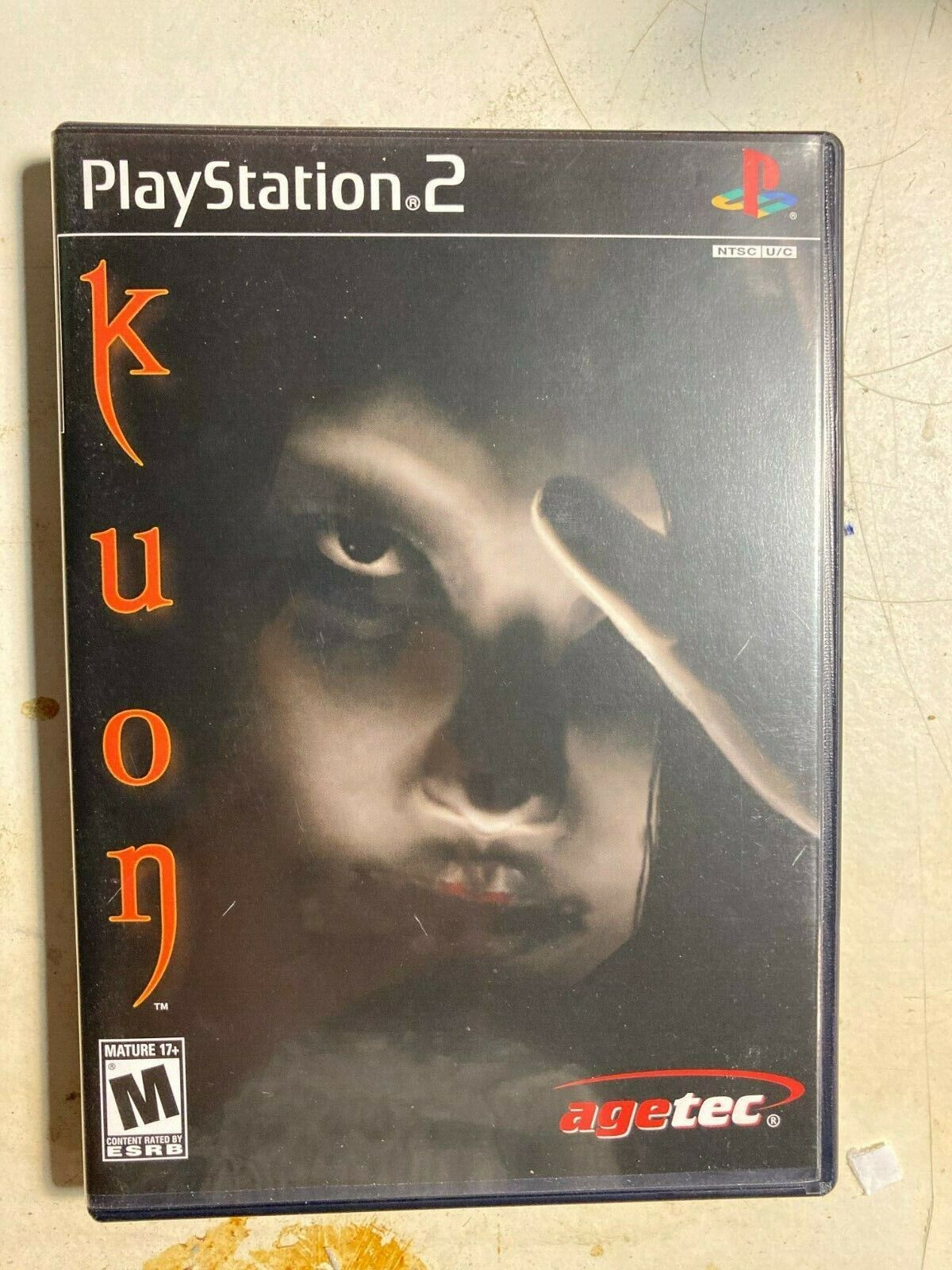 Kuon RARE Sony PlayStation 2, 2004 VERY GOOD Condition, AGETEC, FROM SOFTWARE - $650.00