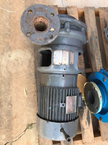 """Goulds Centrifugal Pump Model 3655 150 GPM 2.5 x 3 x 9"""" Impeller 5 HP Motor"""