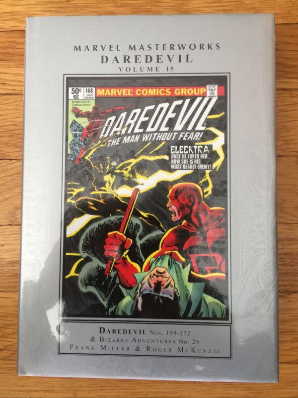 MARVEL MASTERWORKS DAREDEVIL Volume #15 Hard Cover (2021) Global Shipping