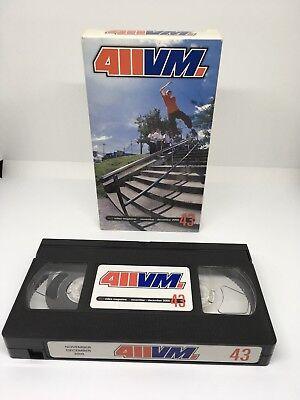 411VM 'Issue 43' Nov/Dec 2000 VHS NTSC HUF Haney Hassan Agah Getz