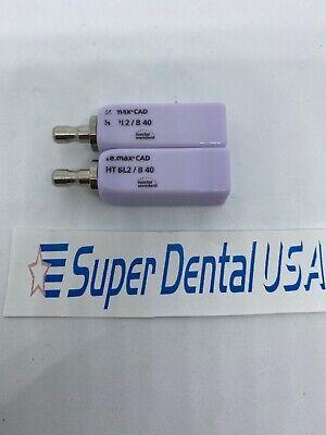 Cerec Emax Ht Bl2 B40 Ivoclar. Two Total Blocks Bridge Superdentalusa
