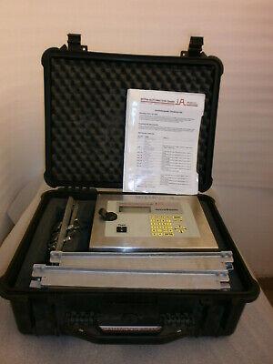 Portable Ultrasonic Flowmeter Intra Automation Gmbh Intrasonic Is-100 2993