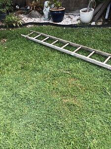 Wooden ladder (sold pending pick up)