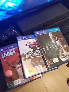 Sony PS4 + 3 games only $320 Carss Park Kogarah Area Preview