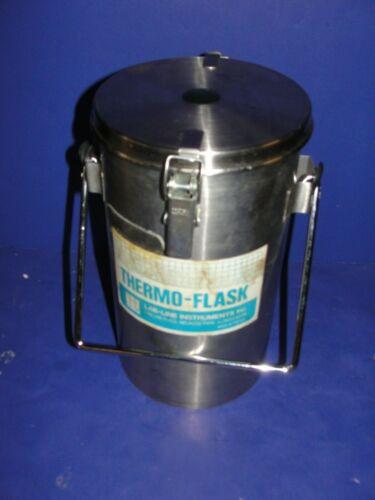 Thermo Flask LN2  vacuum Dewar 2123  1.5 to 2L