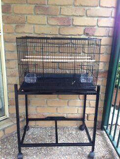 BRAND NEW trolley & bird cage flight cage $80