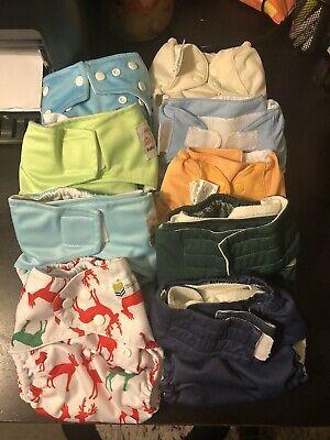 9 Cloth Diaper Lot