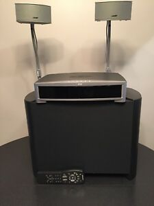 Bose 321 gs series 2 system with gemstone's speakers