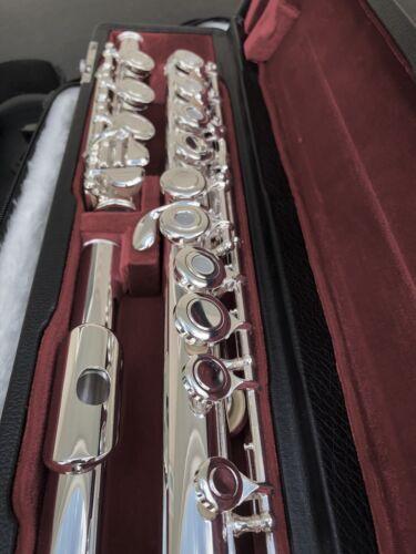 NEW Gemeinhardt 3OB Silver plated Flute, Open-Hole, B-foot, offset G, 30B