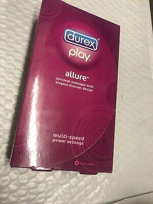 Durex® Play Allure Personal Massager - Waterproof - Multi-Speed - EXP