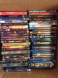 100+ DVD's for $100
