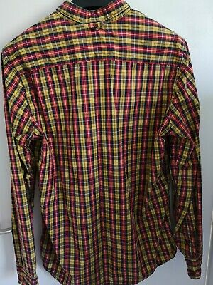 Vans Checked/ Plaid Shirt Long Sleeves Button up - Size Large. Mint condition