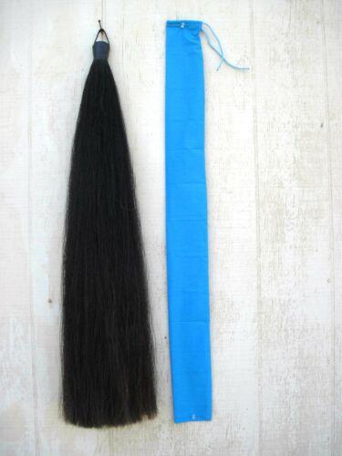 TAIL Extension BLACK 1lb 36 inch AQHA APHA PtHA USDF FEI NSBA by KATHYS TAILS