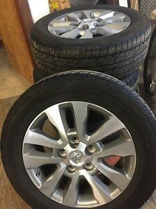 "Toyota Tundra Limited wheels 20"" rims"