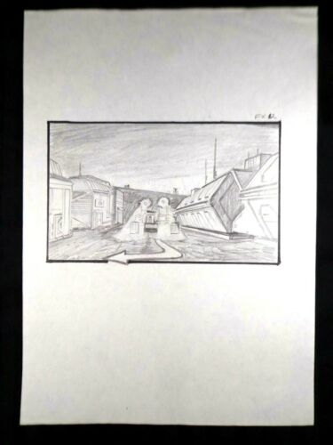 ALIENS Authentic FILM STORYBOARD CONCEPT ART 1986 JAMES CAMERON ROGER DEAR #3