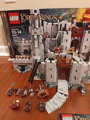 LEGO Lord of the Rings Battle of Helm's Deep (9474) and Urah Kai Army( 9471)