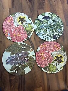 Charger plates X 4