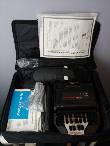 Stentura 400 SRT Electric Stenograph Stenography with Case & Accessories 400SRT