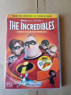 The Incredibles 2 disc Collector's Edition DVD