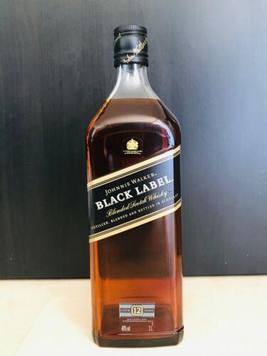 Johnnie Walker Black Label Dummy Display Bottle