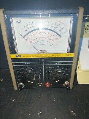 Vintage Bk Model 277 Solid State Electronic Multimeter Ham Audio