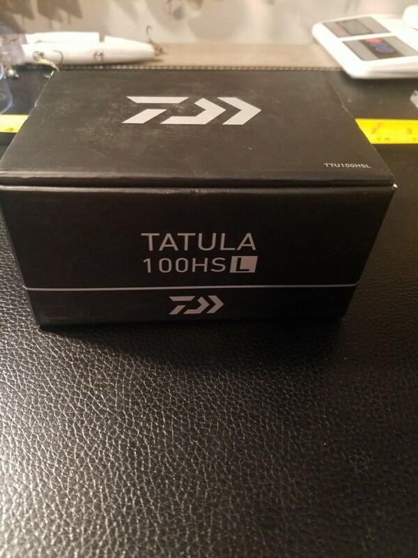 Diawa Tatula 100HS L Left Hand Baitcasting Reel
