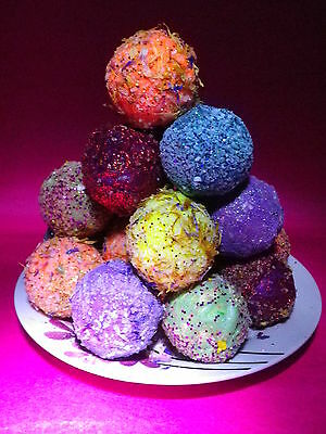 10  LUSH Smelling Beautiful Gems Bath Bombs Fizzy Special Offer £12.99