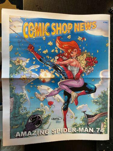 COMIC SHOP NEWS #1768 AMAZING SPIDER-MAN #74, ARCHIE COMICS, PROMO